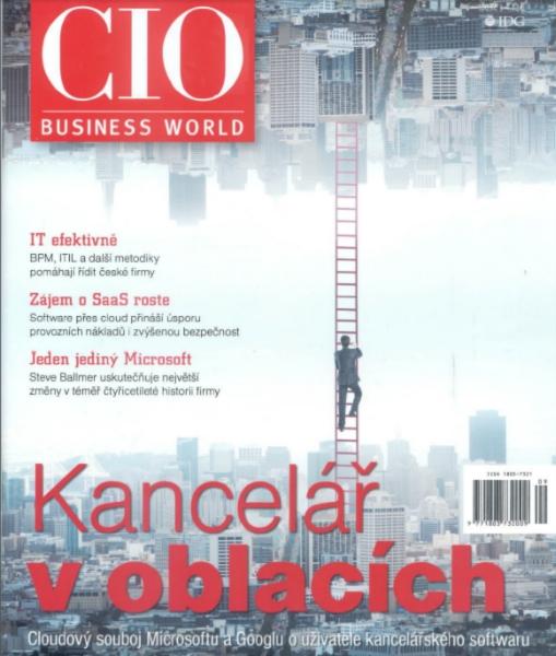 Článek v Businessworld
