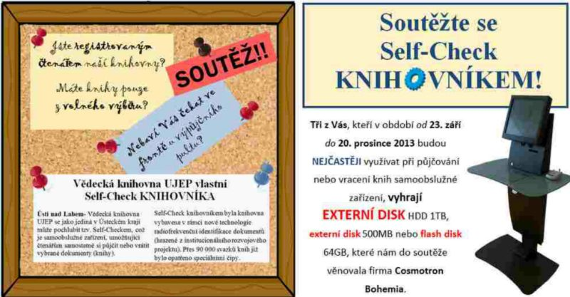 Selfcheck v UJEP - súťaž o ceny