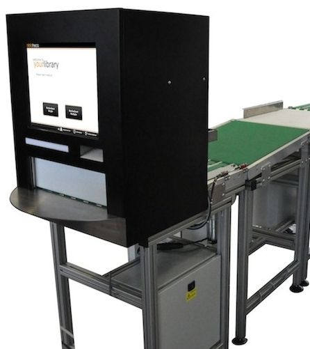 Self-return machine for UTB Zlín