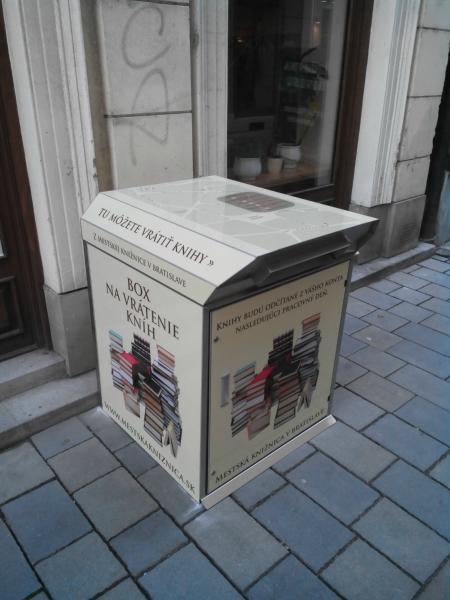 Box for MK Bratislava