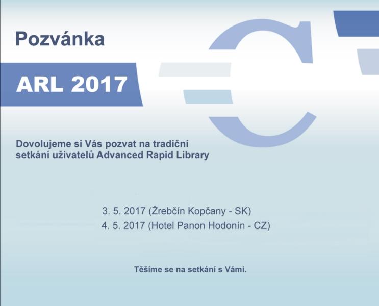 Seminář ARL 2017