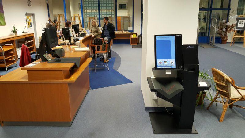 Hybridní selfcheck v Karlových Varech
