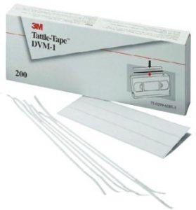 Bezpečnostní pásky Tattle-Tape DVM-1