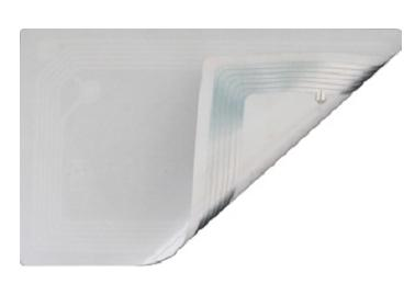 RFID etiketa pro knihy obdélníková